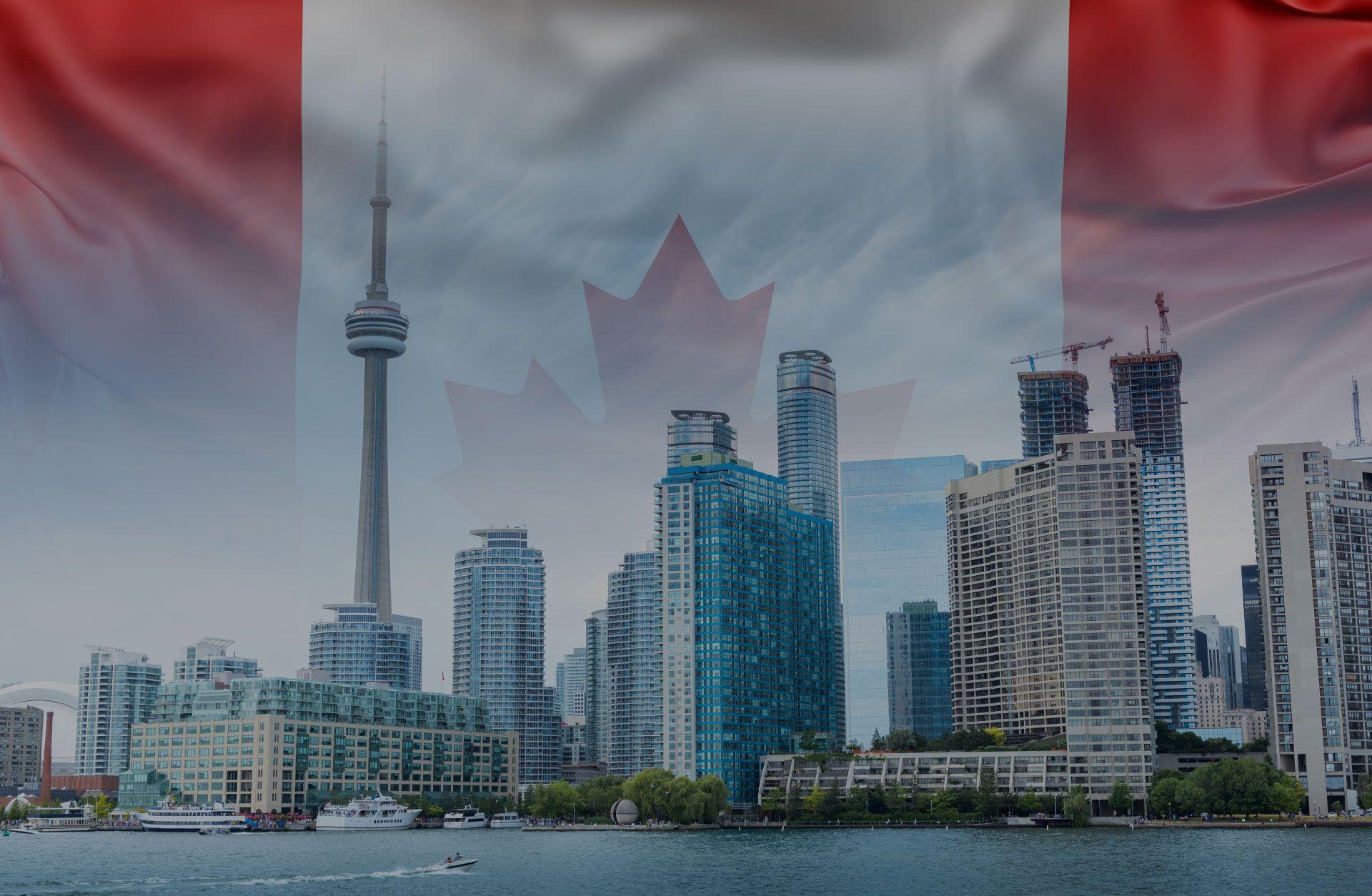 Canada PR Visa - Tornoto City Skyline