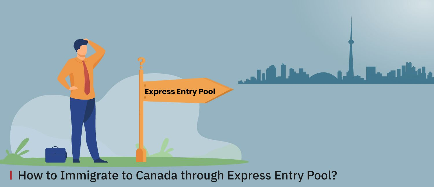How-to-Immigrate-to-Canada-through-Express-Entry-Pool-