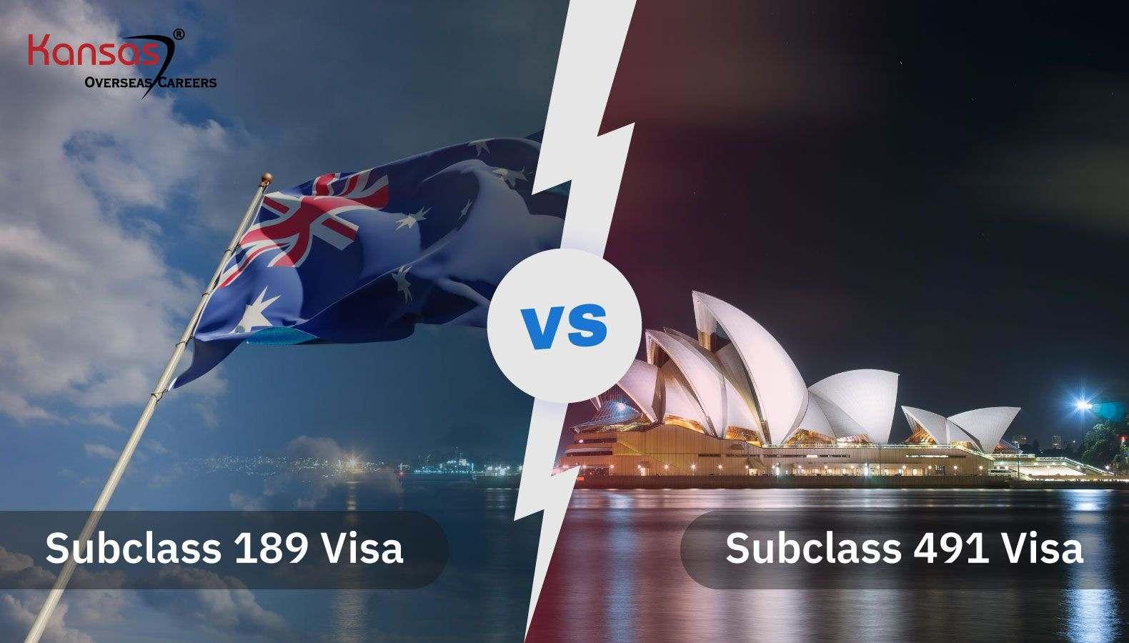Subclass-189-Vs-491-Visas
