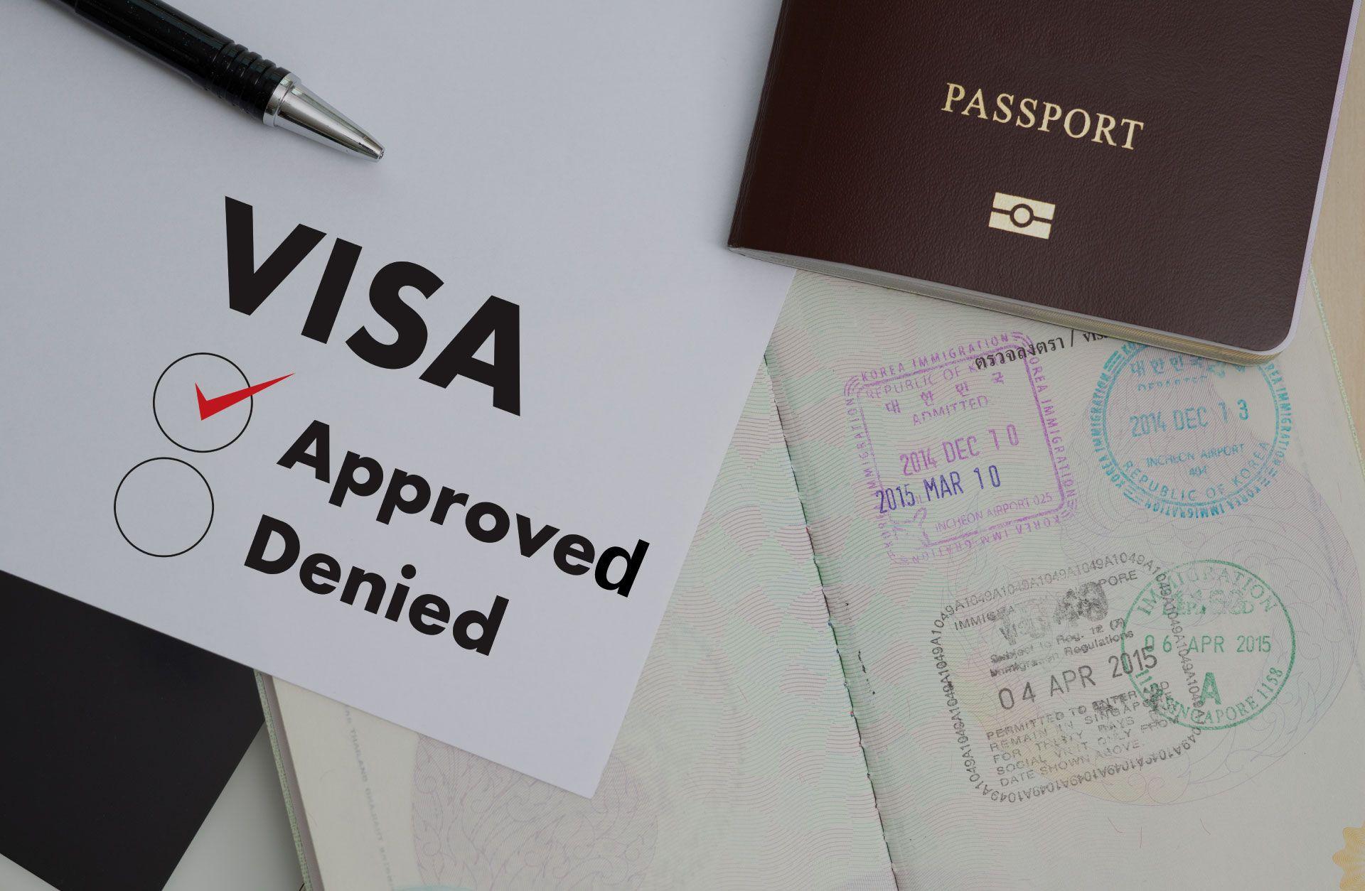 Temporary Visa  Approval