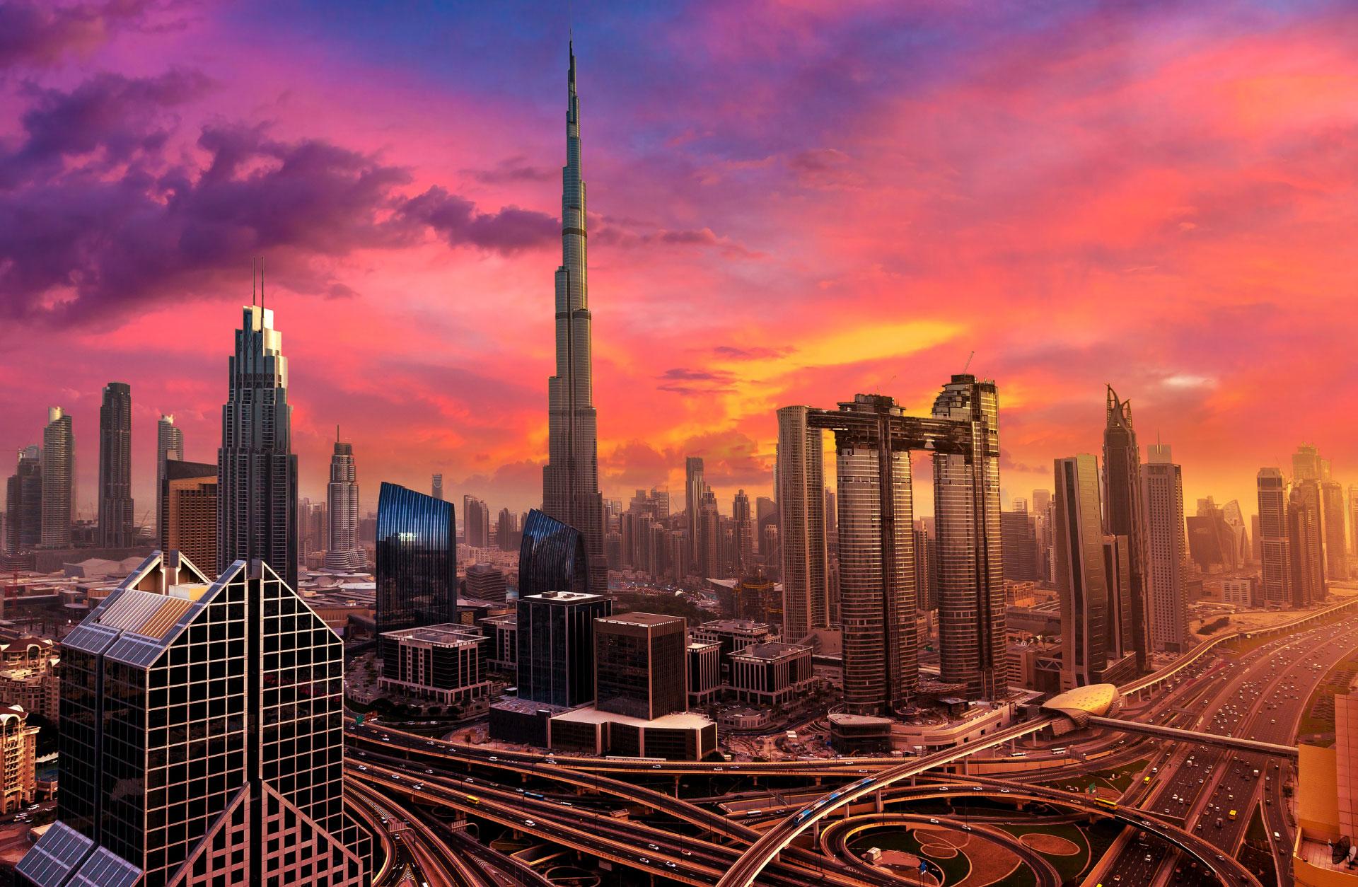 Visit Visa to Dubai - Skyscrappers