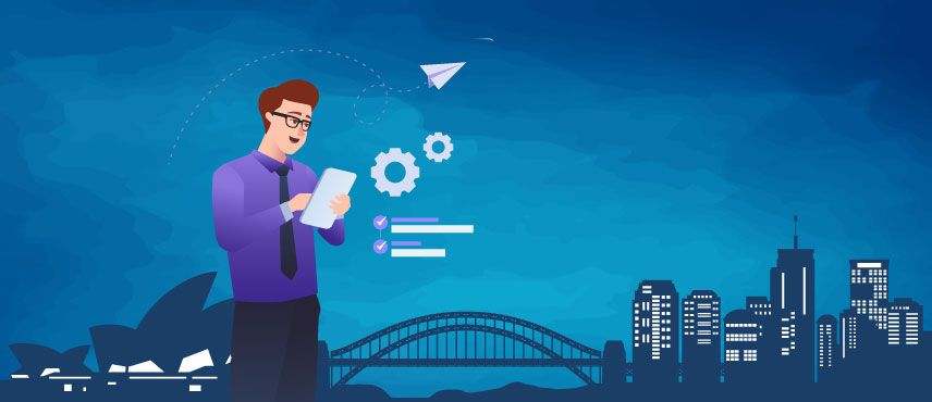 illustration of benefits of immigrating to Australia for a Skilled Professional in 2021