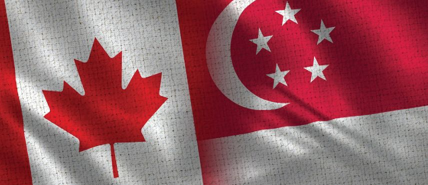 Singapore and Canada become popular among business students