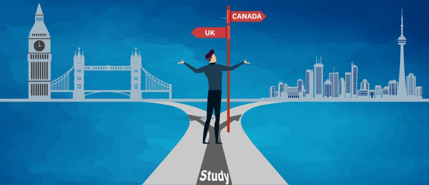 UK vs Canada for Study – Which Country Is Better For Indians in 2021?